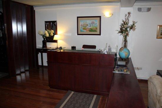 Suites Metrópoli: Recepción