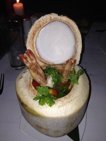 Renaissance Koh Samui Resort & Spa: Spicy Prawn Soup