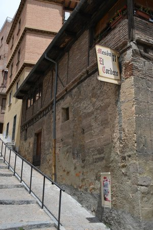 Restaurante El Cordero: Lateral externa