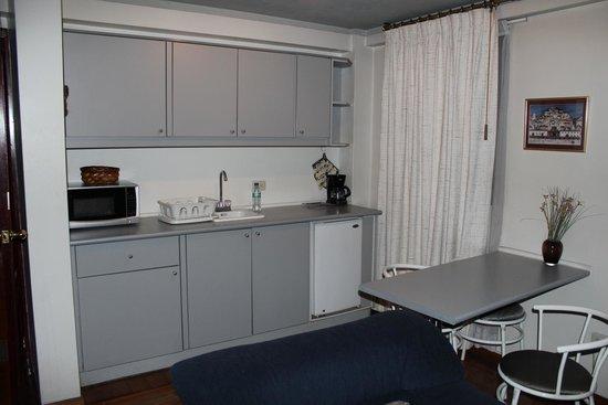 Suites Metrópoli: Cocina de la Suite
