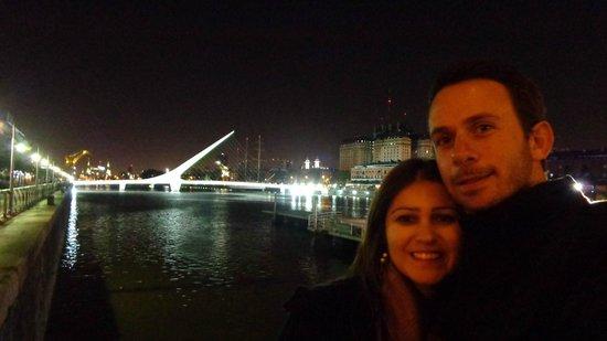 Puerto Madero en la noche!