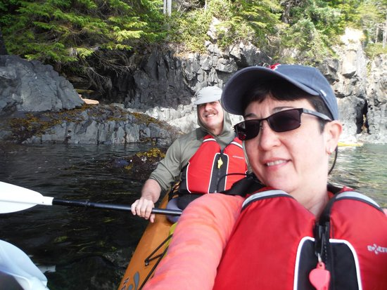 Wildcoast Adventures - Day Tours: Kayak Selfie;)