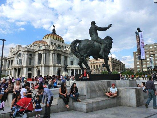 Historic Center (Centro Historico) : Bellas Artes no centro Historico
