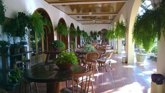 Hotel Mantovani: Área externa