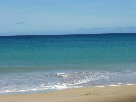 Hapuna Beach: sand view