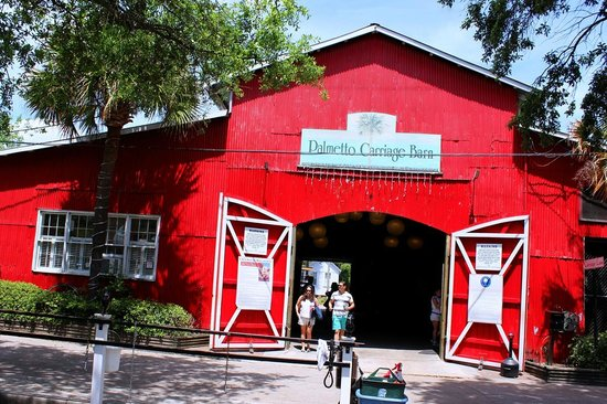 Palmetto Carriage Works: The Red Barn where you meet