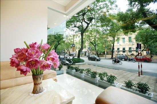 Lan Vien Hotel Hanoi : View from Lobby