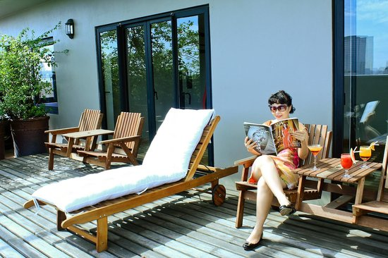Lan Vien Hotel Hanoi : Terrace