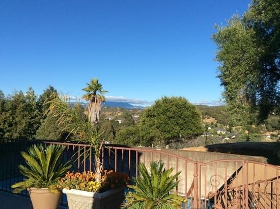 Bella Villa Messina: alexander valley from the deck