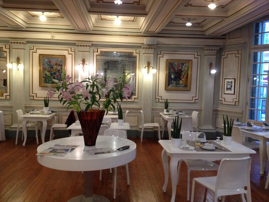 Hôtel de France : salão do café da manhã