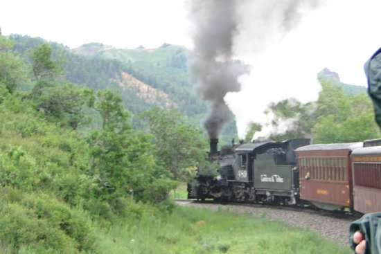 Gandy Dancer Inn Bed and Breakfast: The train