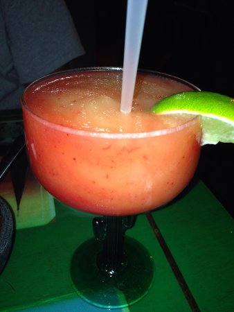 San Juan : This is NOT Tex Mex ... This the REAL DEAL ... Strongest Rita I have EVER had . Salsa very hot !