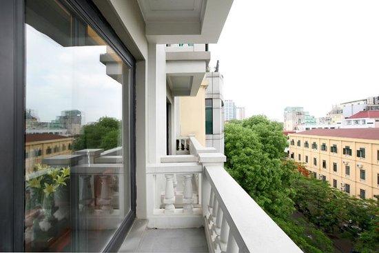 Lan Vien Hotel Hanoi : Balcony