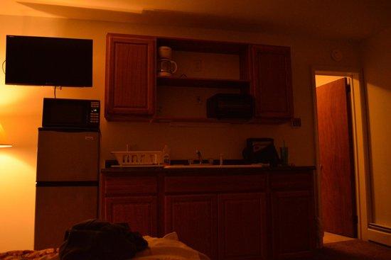 Celtic Motel: kitchenette 1