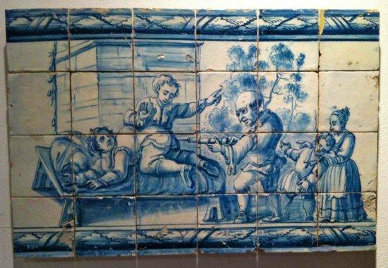 Museo Nacional del Azulejo: Satirico