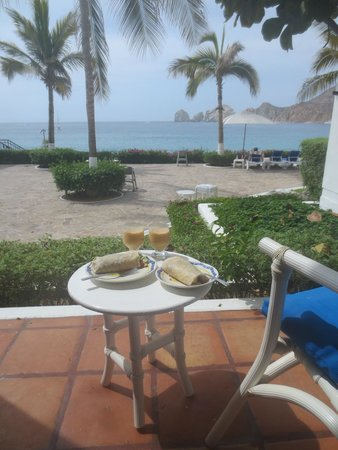 Pueblo Bonito Los Cabos: Private patio and gorgeous views right from the room.