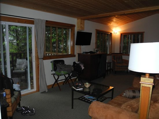 West Coast Wilderness Lodge: Forest View Room