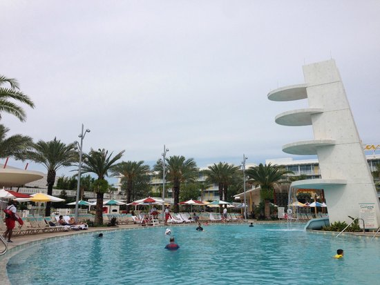 Universal's Cabana Bay Beach Resort: piscina