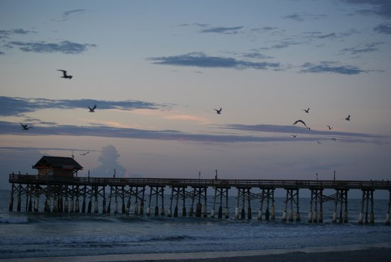 BEST WESTERN Cocoa Beach Hotel & Suites : the end of the pier