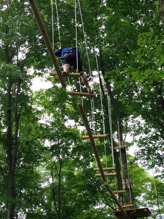The Inn at the Peak: Outdoor Adventure Course