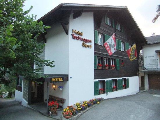 Hotel Tschuggen: 外観