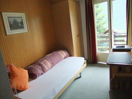 Hotel Tschuggen: シングルルーム