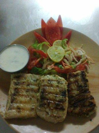 grild fish picture of khajura bar restaurant diu tripadvisor