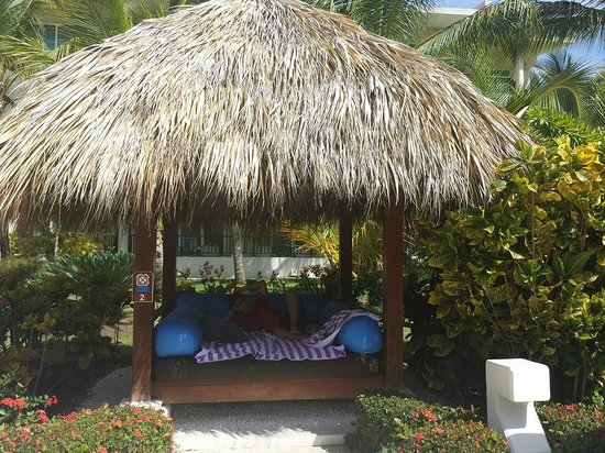 The Reserve at Paradisus Punta Cana: Pool cabana