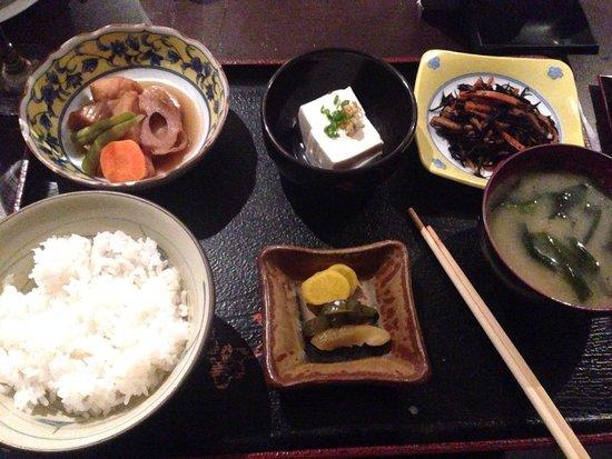 New Koto: TEISHOKU sashimi