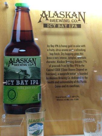 Alaskan Brewery and Bottling Company : Icy Bay IPA donations