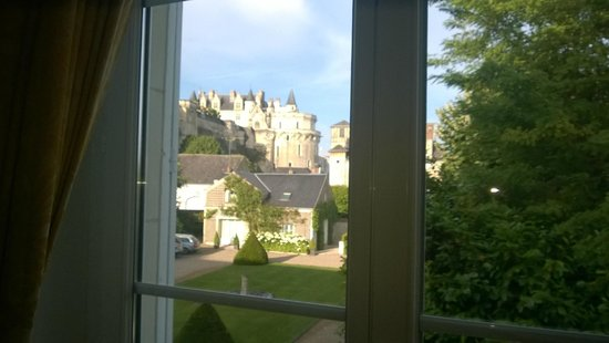 Hotel Le Manoir les Minimes : Room with a view