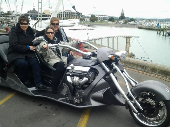 Supertrike Tours and Hire: Trio on a bike.  Yeah right.