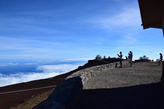 Haleakala Crater: On top of Maui