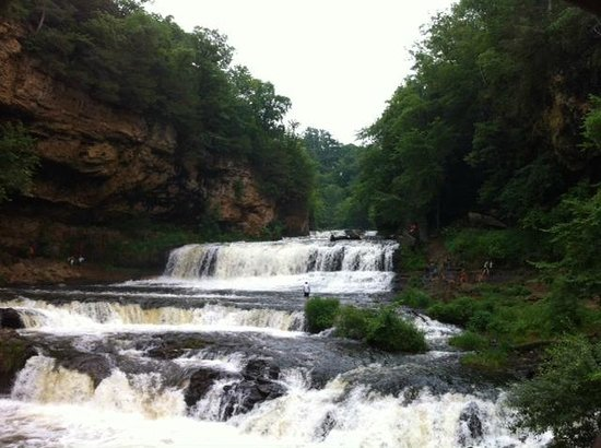 Falls at Willow River State Park - Hudson, WI