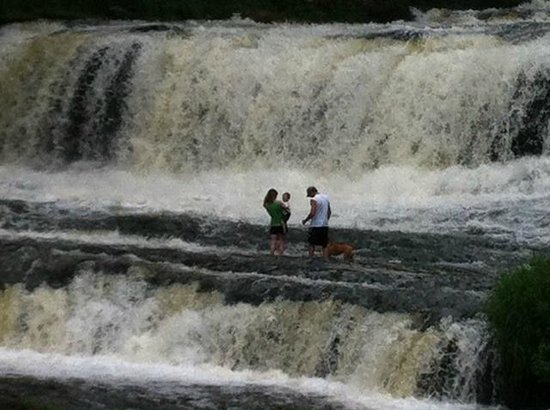 Falls at Willow River State Park, Hudson, WI