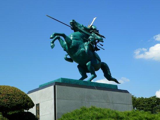 Mogami Yoshiaki Historical Museum : 最上義光像