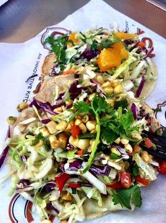 Oxbow Public Market : mahi mahi tacos