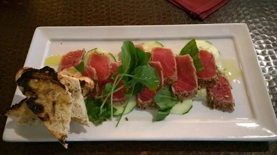 CorkHouse : Seared Ahi