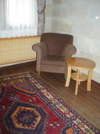 Goreme Kaya Hotel: 素敵な絨毯
