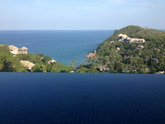 Banyan Tree Samui: View from pool