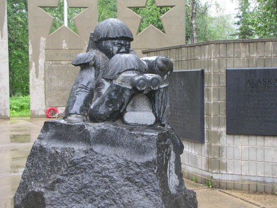 Alaska Veterans Memorial: Another angle