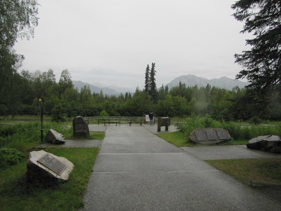Alaska Veterans Memorial: Potentially great view