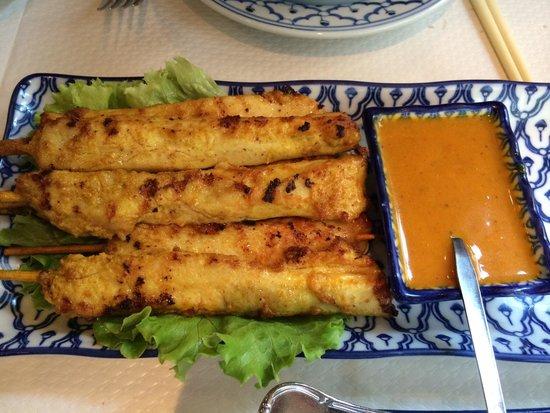 Sala Thai: Thai Chicken satay ������