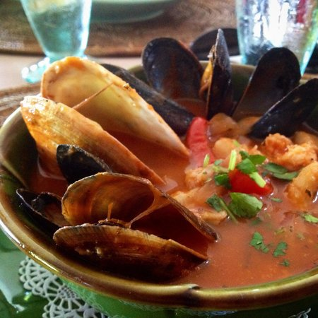 The Dunes Studio Gallery and Cafe : Seafood Stew! #yum