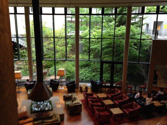 Hyatt Regency Hakone Resort and Spa : ラウンジ