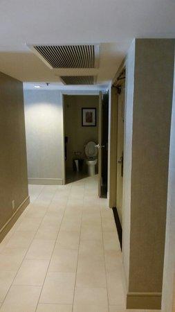 Hilton Anaheim: Second bathroom