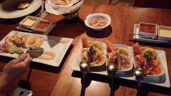 Lima 12 05 Peruvian Cuisine & Steak House: Sencillamente delicioso...