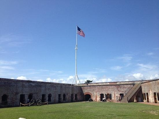 fort macon on july 4th