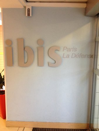 Ibis Paris La Defense Centre : Ingresso