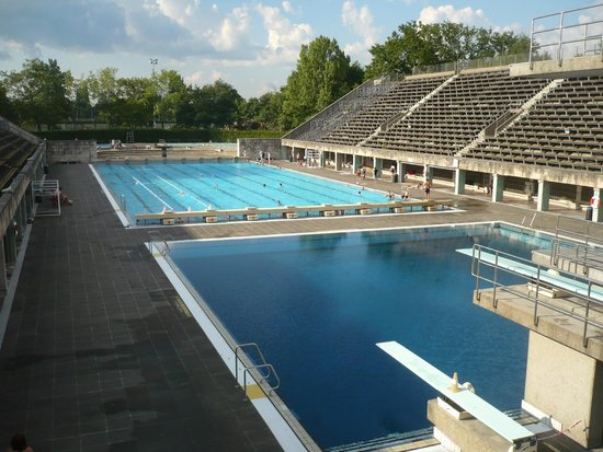 Olympiastadion: Swimming pool